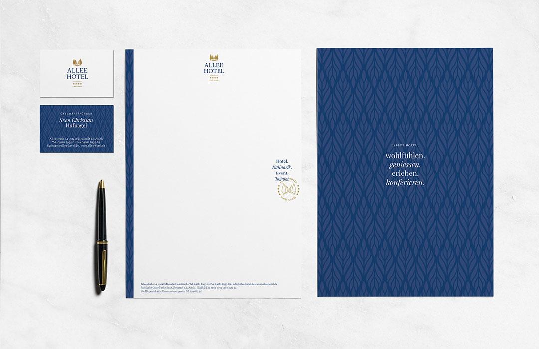 toc designstudio - Allee Hotel Neustadt a.d. Aisch - Corporate Design & Webseite