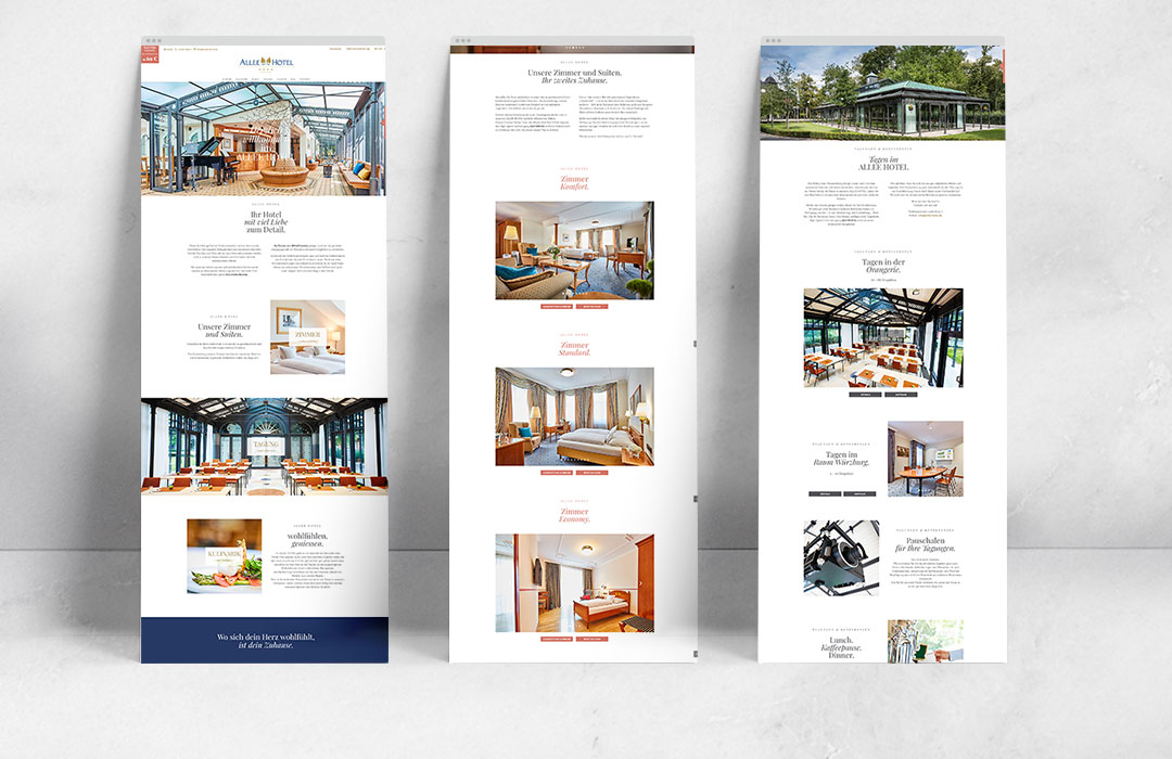 toc designstudio - Allee Hotel Neustadt a.d. Aisch - Corporate Design & Webseite
