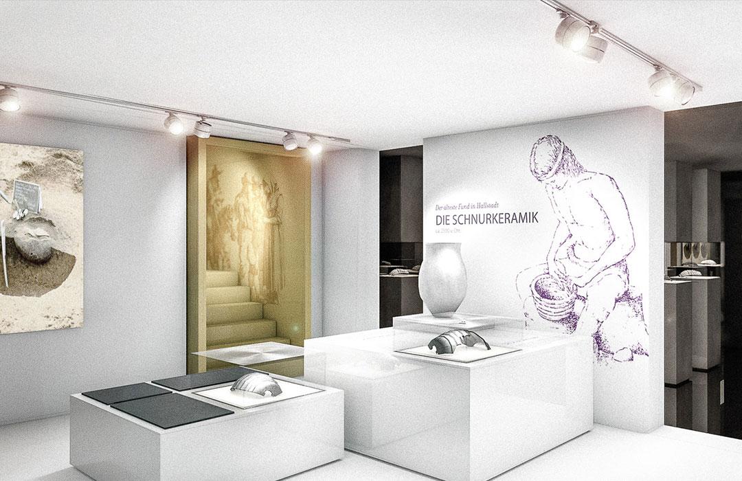 toc. designstudio - Hallstadt Museum - Ausstellungskonzept Szenographie - Wettbewerbsbeitrag