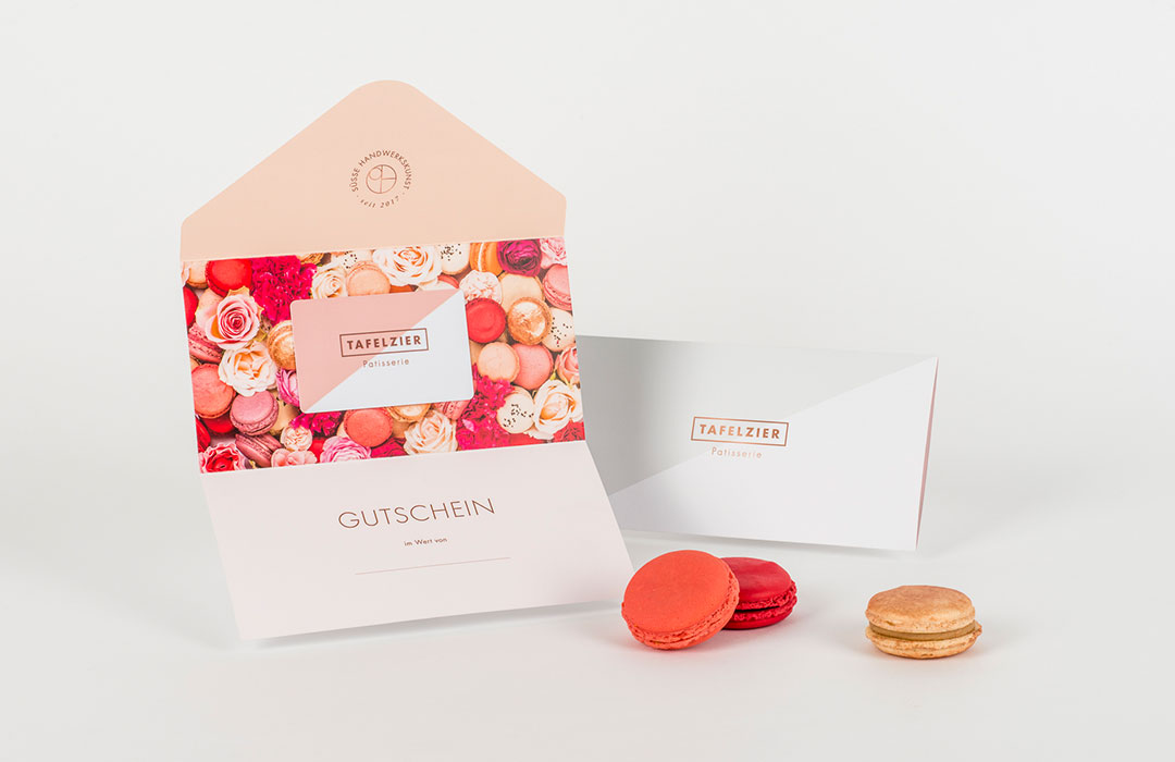 toc. designstudio  - Patisserie Tafelzier Nürnberg - Konzeption, Namensgebung, Branding, Wording, Innenarchitektur, Fotografie, Packaging, Web