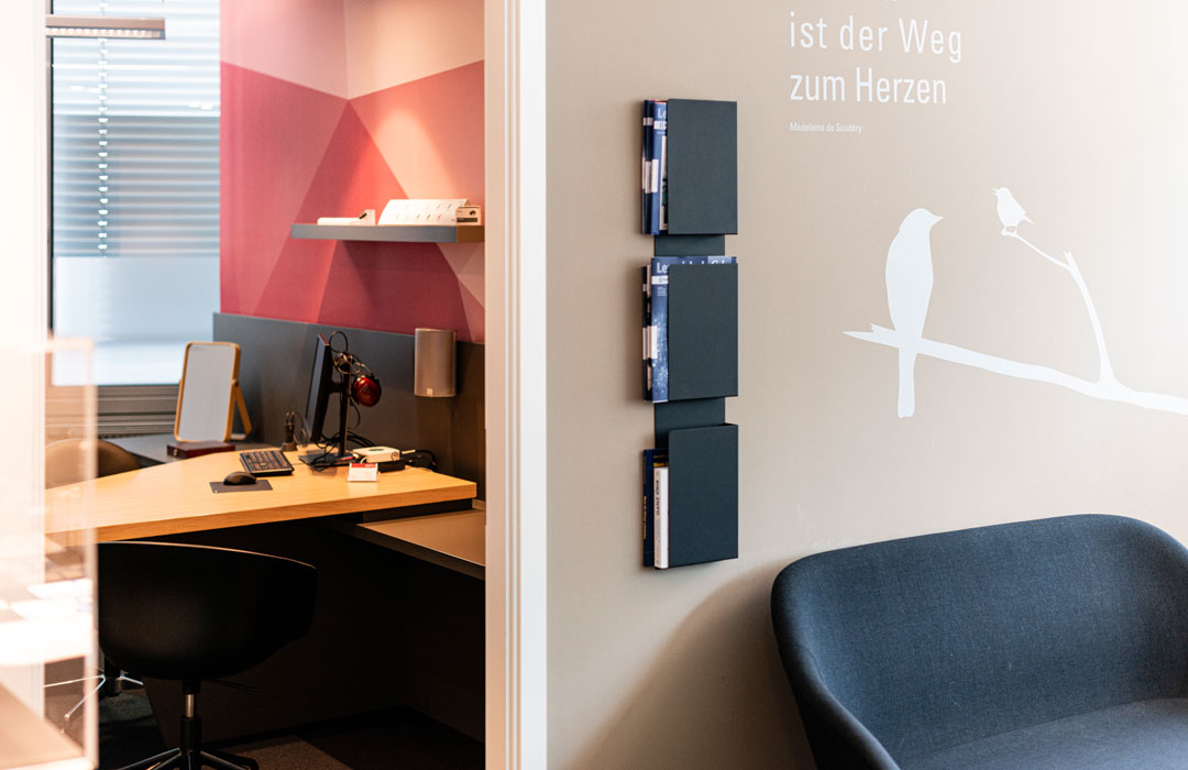 toc. designstudio - Hörluchs Hörgeräte Nürnberg - Konzeption, Innenarchitektur